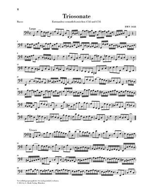 Johann Sebastian Bach: Trio Sonata In G BWV 1038: Flute & Violin