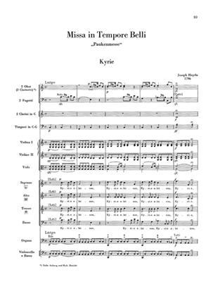 Franz Joseph Haydn: Masses No. 5 - 8: Orchestra