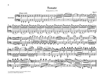 Ludwig van Beethoven: Works For Piano Four Hands Urtext: Piano Duet