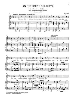 Ludwig van Beethoven: An Die Ferne Geliebte Op.98: Voice