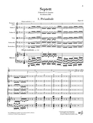 Camille Saint-Saëns: Septett Es-dur Opus 65: Trumpet