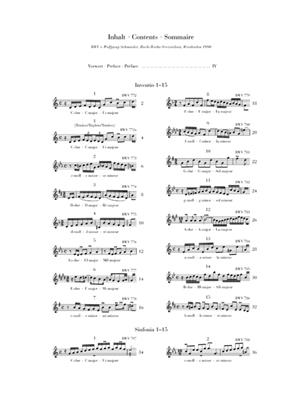 Johann Sebastian Bach:Inventions And Sinfonias