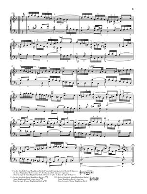 Johann Sebastian Bach: French Suites BVW 812-817: Piano or Keyboard