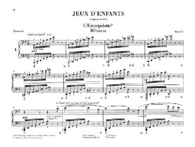 Georges Bizet: Jeux D'Enfants Op. 22: Piano Duet