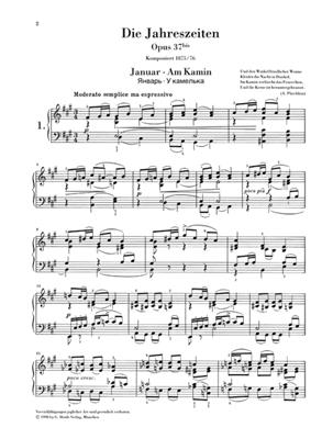 Pyotr Ilyich Tchaikovsky: The Seasons Op.37bis - Piano Solo: Piano