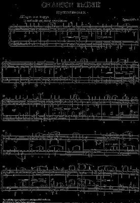 Pyotr Ilyich Tchaikovsky: Chanson Triste Op.40 No.2: Piano or Keyboard