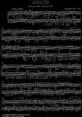 Franz Schubert: Klaviersonate A-Moll Op. 143: Piano