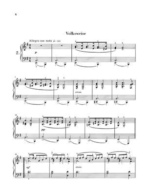 Edvard Grieg: Lyric Pieces Volume II Op.38: Piano