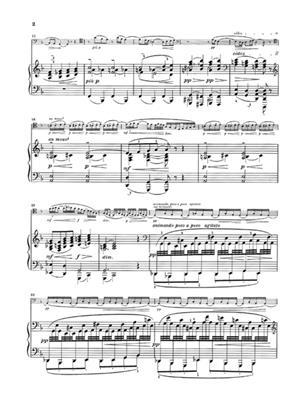 Claude Debussy: Sonata For Cello and Piano: Cello