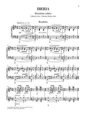 Isaac Albéniz: Iberia 2: Piano