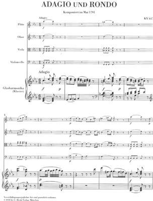 Wolfgang Amadeus Mozart: Adagio And Rondo K.617: Piano Quintet