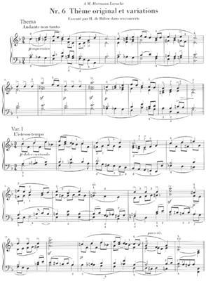 Pyotr Ilyich Tchaikovsky: Sechs Stucke Fur Klavier Op. 19: Piano