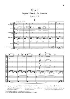 Leos Janacek: Mládí (Jugend): Ensemble