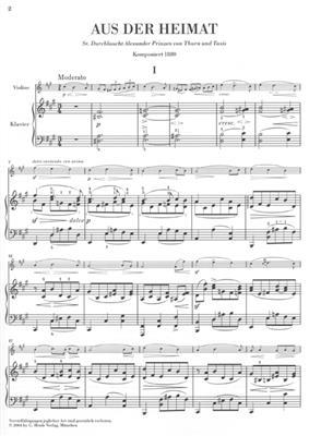 Bedrich Smetana: Aus Der Heimat - From My Native Land: Violin