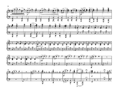 Antonín Dvořák: Slavonic Dances Op. 46 For Piano Four-hands: Piano Duet