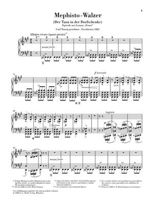 Franz Liszt: Mephisto Waltz: Piano