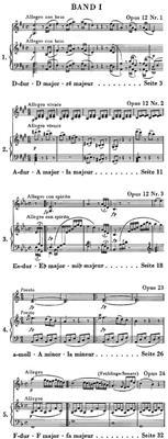 Ludwig van Beethoven: Violinsonaten, Band I: Violin