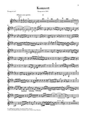 Johann Nepomuk Hummel: Trompetenkonzert E-Dur: Trumpet