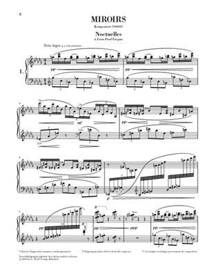 Maurice Ravel: Miroirs: Piano