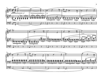 César Franck: Three Pieces for the Grand Organ: Organ