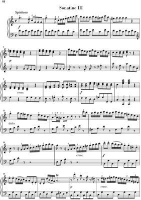 Muzio Clementi: Six Sonatinen Op. 36: Piano
