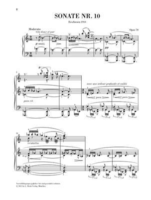 Alexander Skrjabin: Piano Sonata No.10 Op.70 - Henle Urtext: Piano