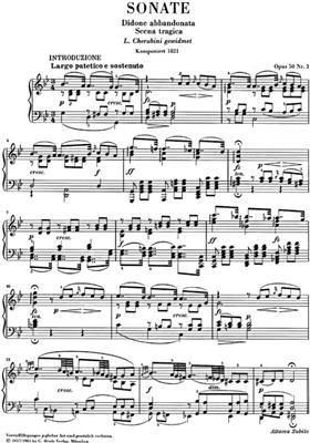 Muzio Clementi: Sonata Op 50 N 3 Didone Abbandonata : Piano