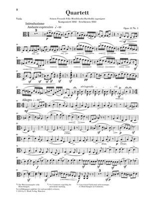 Robert Schumann: String Quartets Op.41: String Quartet