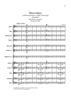 Ludwig van Beethoven: Coriolan Overture Op.62: Orchestra