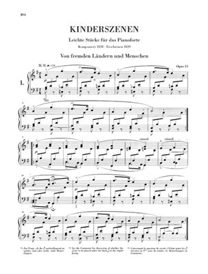 Robert Schumann: Complete Piano Works Volume 3 - Henle Urtext: Piano