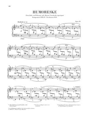 Robert Schumann: Complete Piano Works Volume 4 - Henle Urtext: Piano