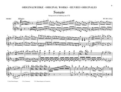 Wolfgang Amadeus Mozart: Works For Piano Four-Hands: Piano Duet