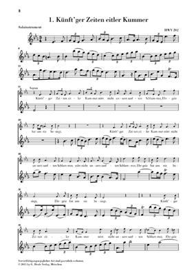 Georg Friedrich Händel: Nine German Arias: Voice