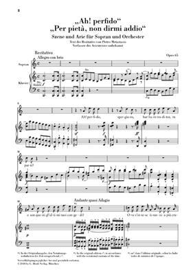 Ludwig van Beethoven: 'Ah! Perfido' Op.65: Soprano