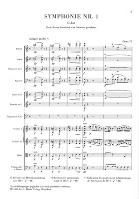 Ludwig van Beethoven: Symphony No.1 In C Op. 21: Orchestra