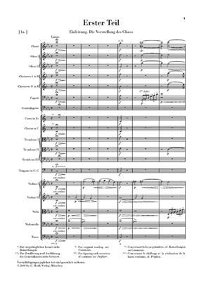 Franz Joseph Haydn: Die Schöpfung: Orchestra
