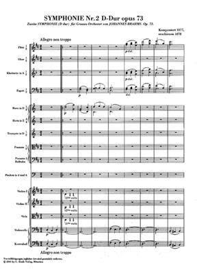 Johannes Brahms: Symphony No.2 In D Op.73: Orchestra