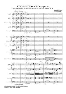 Johannes Brahms: Symphonie Nr.3 F-Dur Op.90: Orchestra