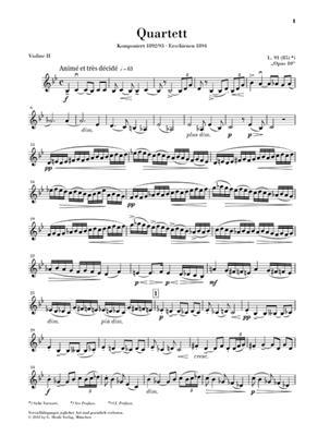 Claude Debussy: String Quartet: String Quartet
