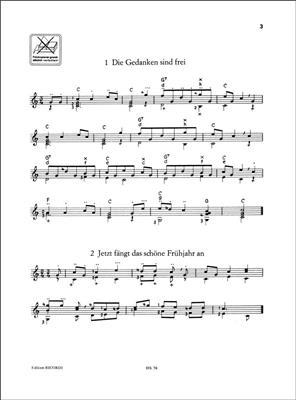 Heinz Teuchert: Volkslieder für Gitarre Solo: Guitar