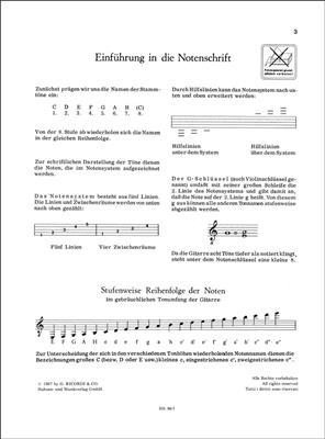 Heinz Teuchert: Gitarrenschule 1: Guitar