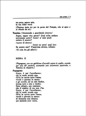 Wolfgang Amadeus Mozart: Il Flauto Magico