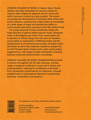 London College Music: LCM Popular Music Vocals - Grade 4