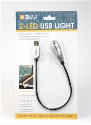 2-LED USB Light: Accessories