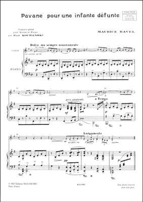 Maurice Ravel: Pavane Pour Une Infante Defunte: Violin