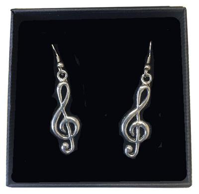 Earrings Treble Clef: Gifts