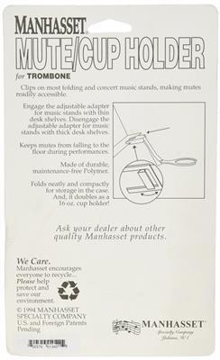 Manhasset Specialty Company: Manhasset Trombone Mute Holder