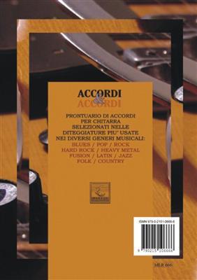 V. Brachi: Prontuario Di Accordi Per Chitarra: Guitar or Lute