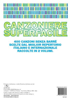 Canzoniere Superfacile Vol. 1: Melodyline, Lyrics and Chords