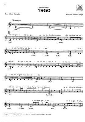 Concerto Italiano: Canzoni Per Sempre: Piano, Vocal and Guitar (songbooks)